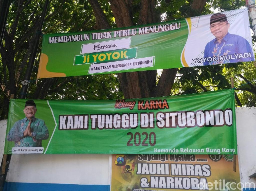 Perang Banner Bacabup di Situbondo, Warga: Ganggu Estetika