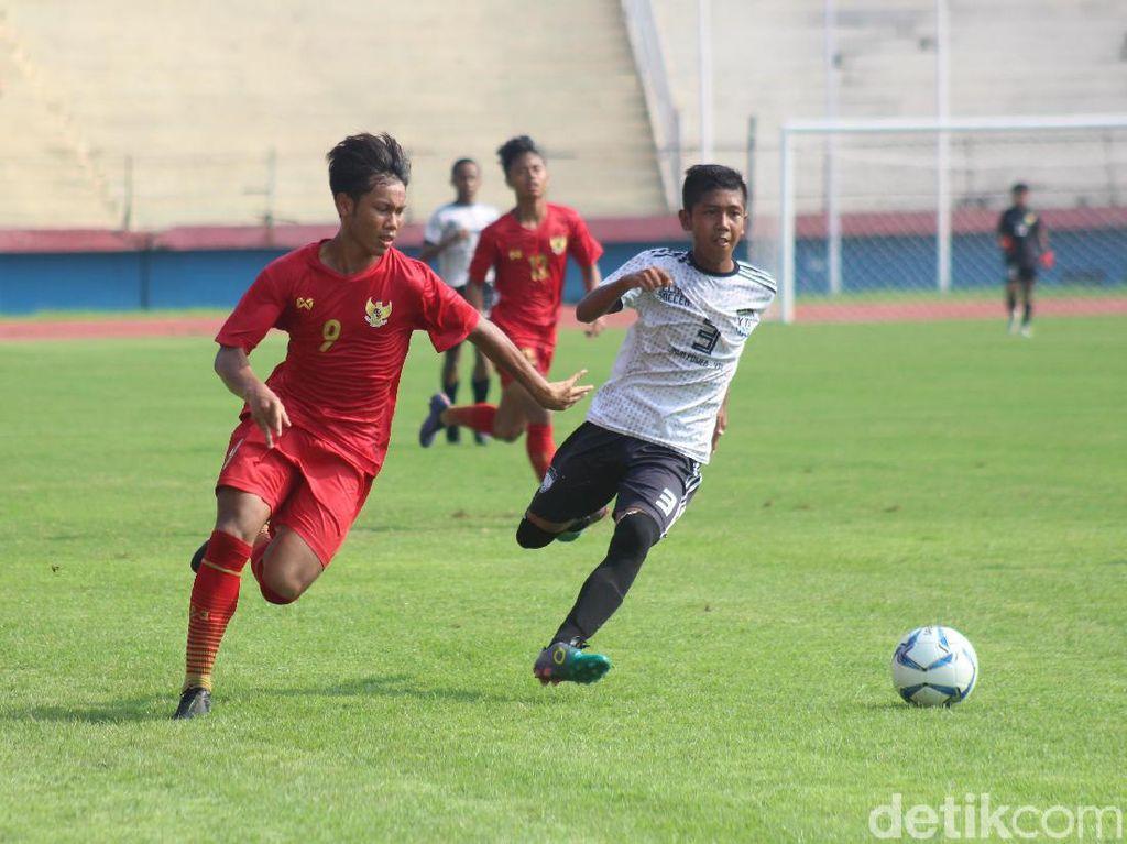 Timnas Indonesia U-16RaihHasil Positif dalam Trofeodengan Tim Jatim