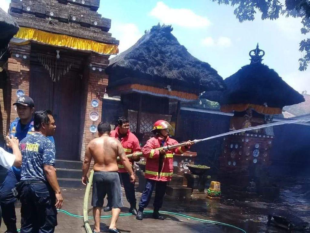 Pura di Denpasar Terbakar, Diduga Dipicu Api Dupa