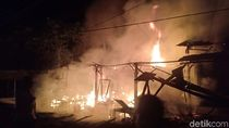 Ada Kebakaran Warung Makan, Jalur Pantura Probolinggo Sempat Macet