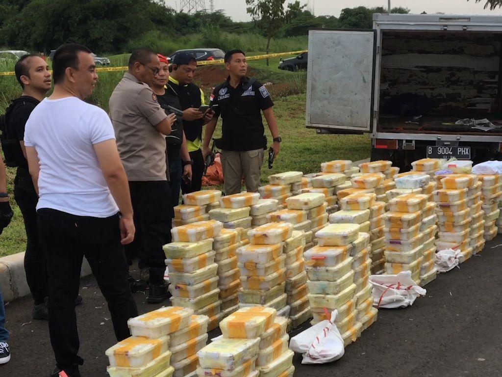 Detik-detik Polisi Gagalkan Peredaran 288 Kg Sabu, 3 Pelaku Didor