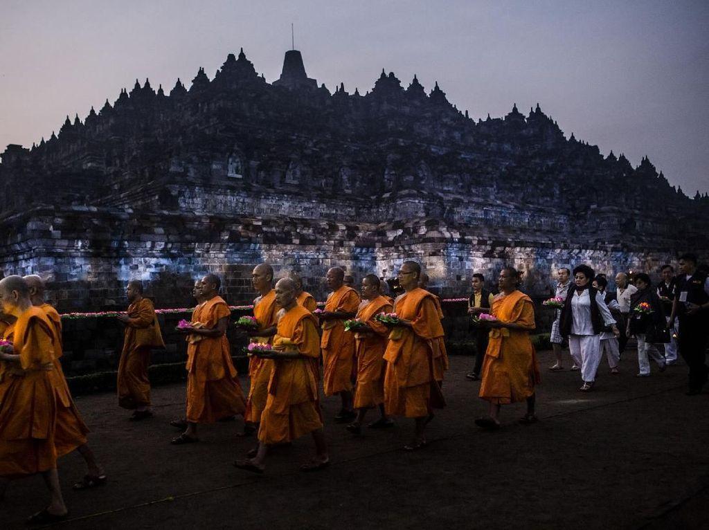 Turis Candi Borobudur Nanti Hanya Mentok Sampai Lantai 8 Saja