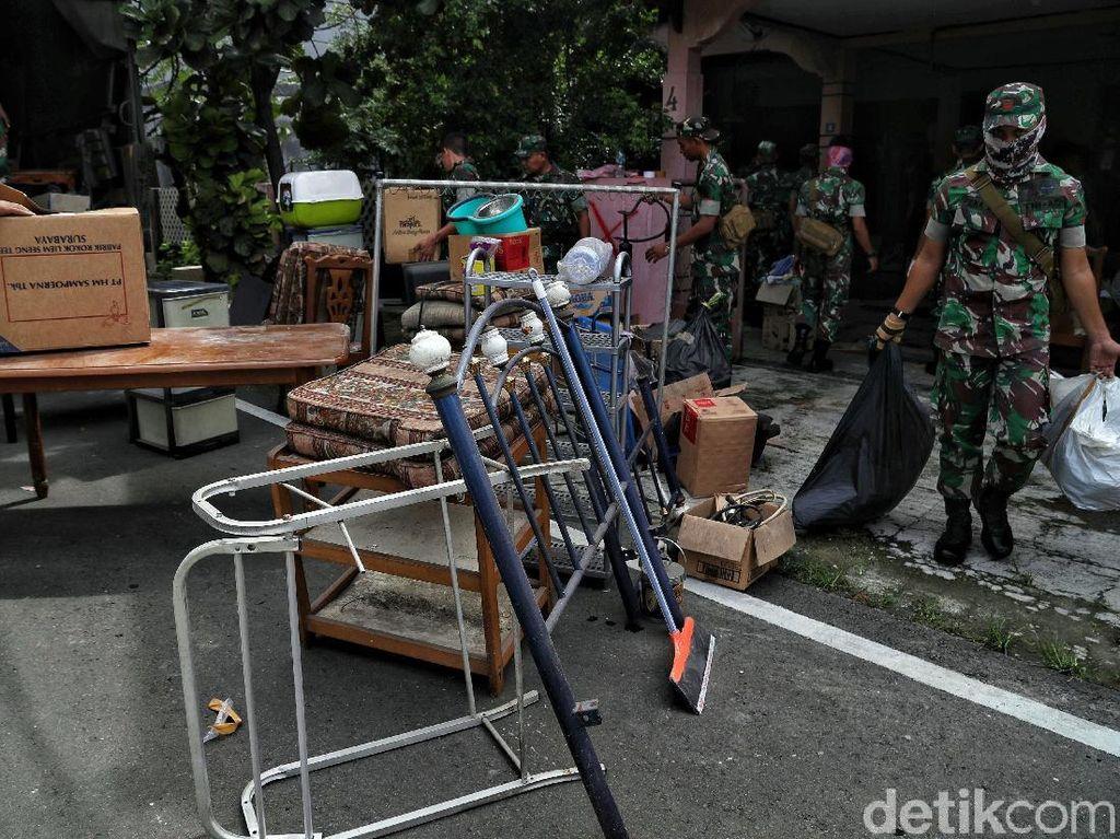 Keluarga Veteran Terpaksa Kosongkan Rumah Dinas di Kemayoran