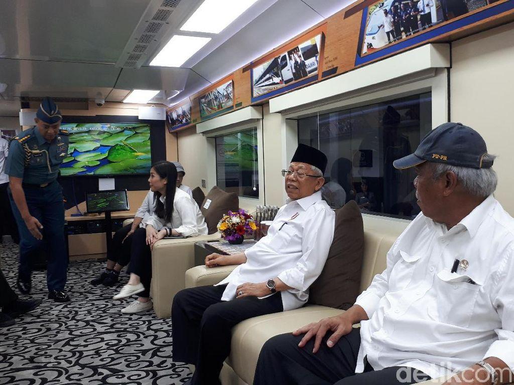 Viral Kereta Wapres Disoraki Penumpang KRL, Jubir: Pak Maruf Sudah Turun