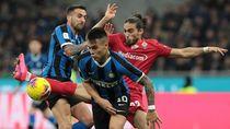 Inter Susah Payah Singkirkan Fiorentina di Coppa Italia