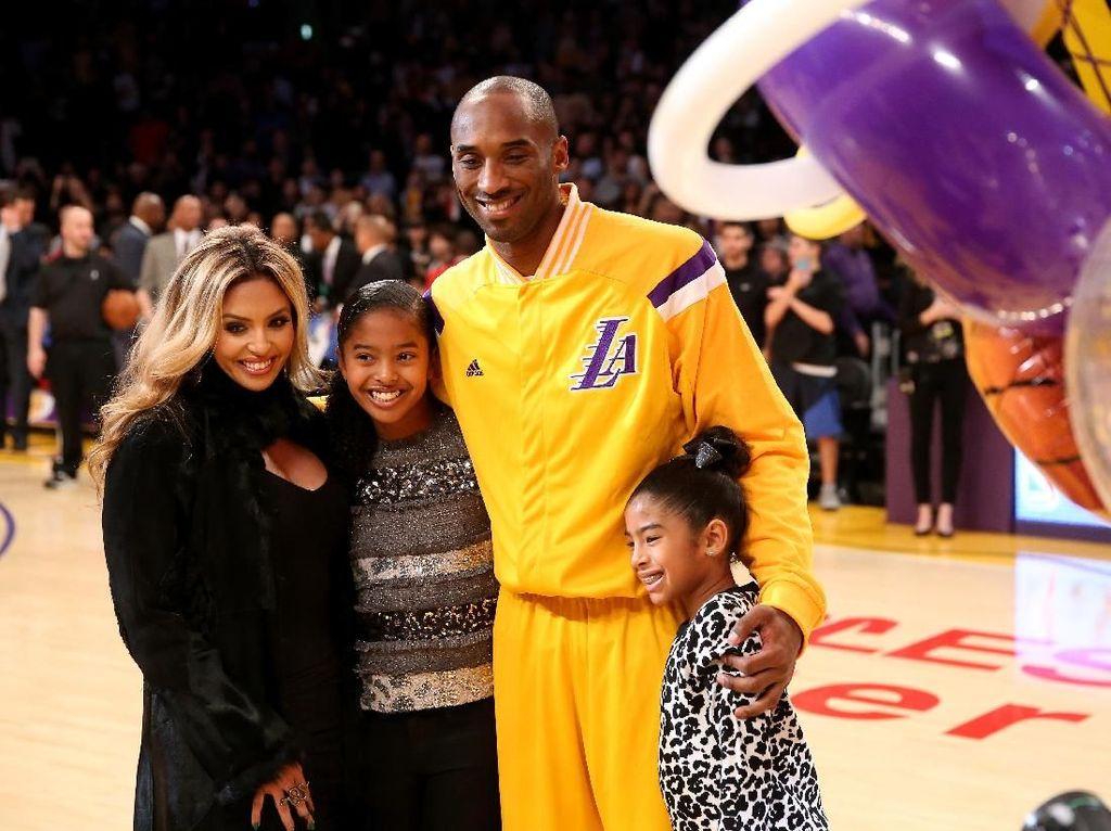 Istri Kobe Bryant Angkat Bicara Soal Kehilangan Suami dan Putrinya
