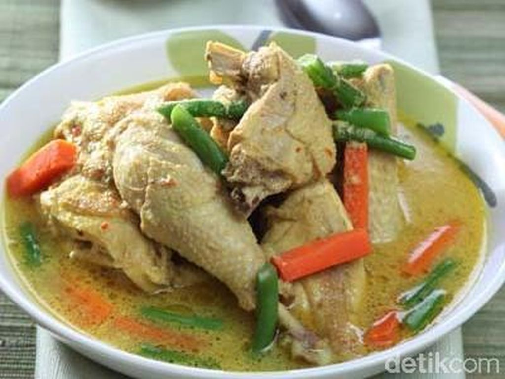 Resep Kare Ayam Jawa yang Gurih Mantap