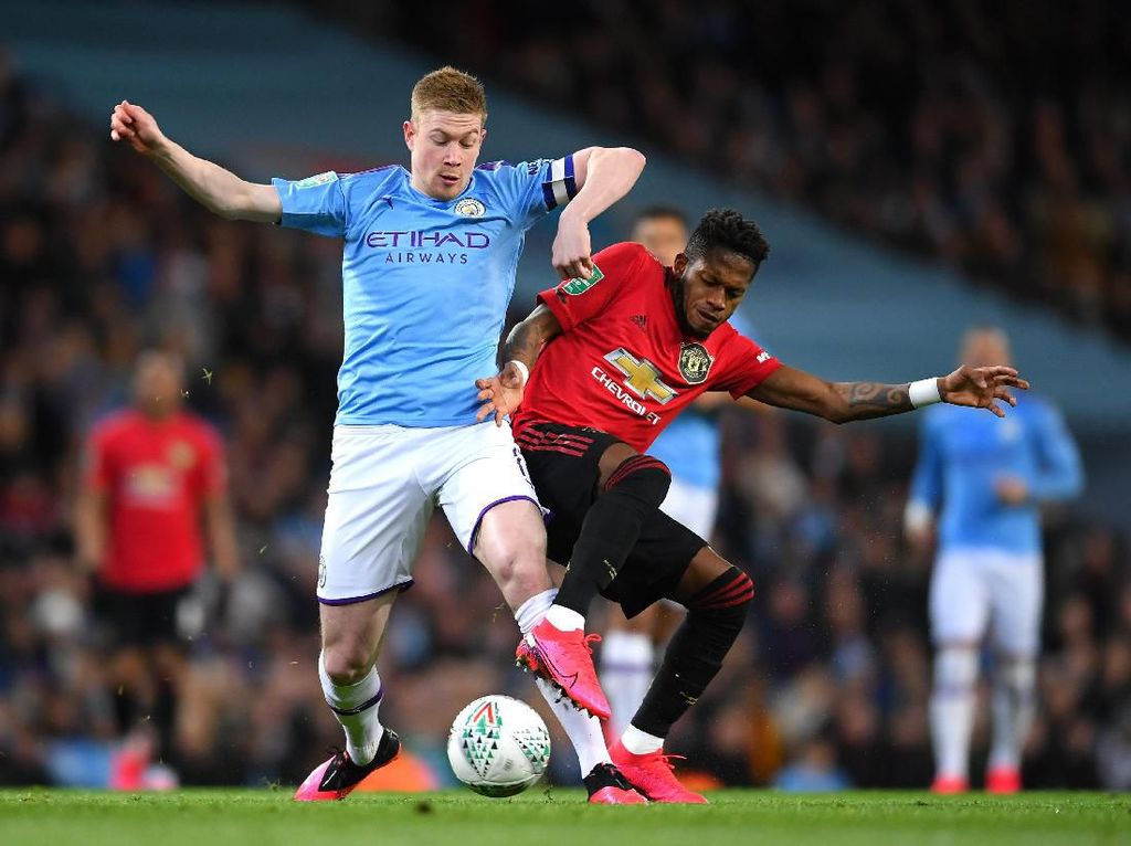 Man City Vs MU: Laju Oke The Citizens Vs Rekor Sip MU di Etihad