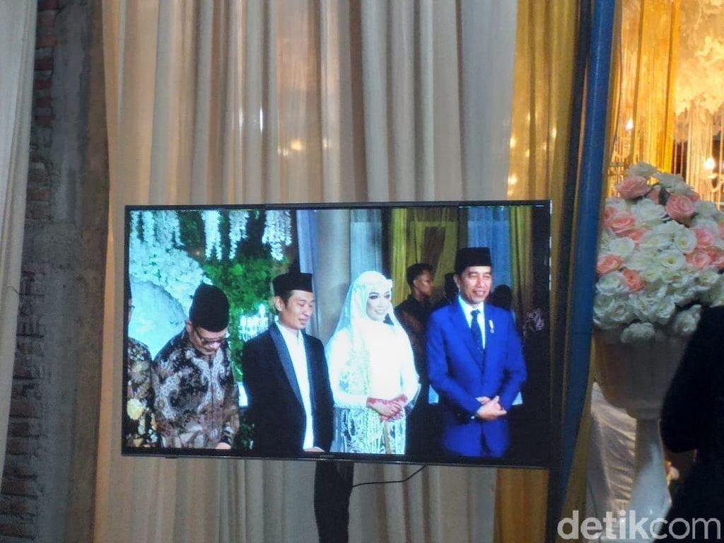 Malam Ini Jokowi Jadi Saksi Nikah Putra KH Dimyati Rois di Bantul