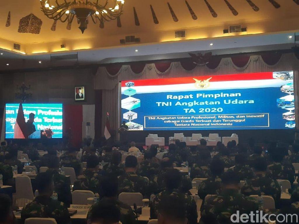 Buka Rapim TNI AU 2020, KSAU Ingatkan Pesan Jokowi-Prabowo soal Anggaran