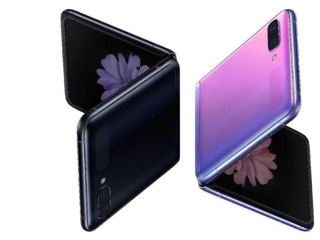 Bocor! Video Hands-on Galaxy Z Fold Warna Ungu
