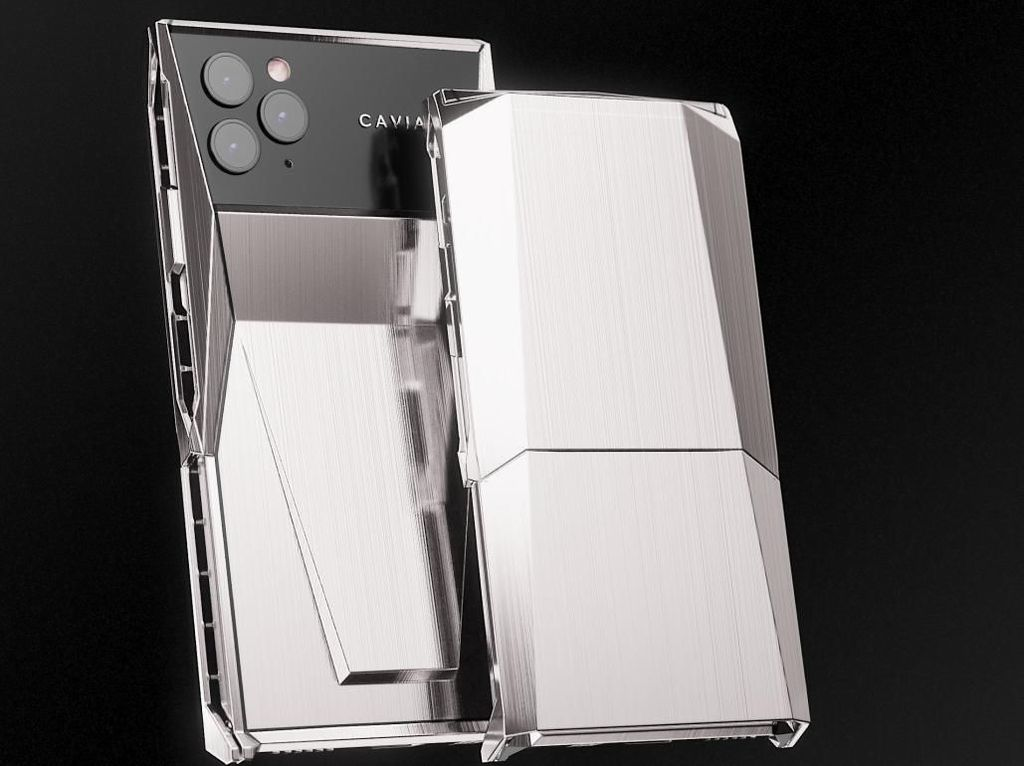 Caviar Rilis Cyberphone, iPhone 11 Pro Versi Sultan Rasa Cybertruck