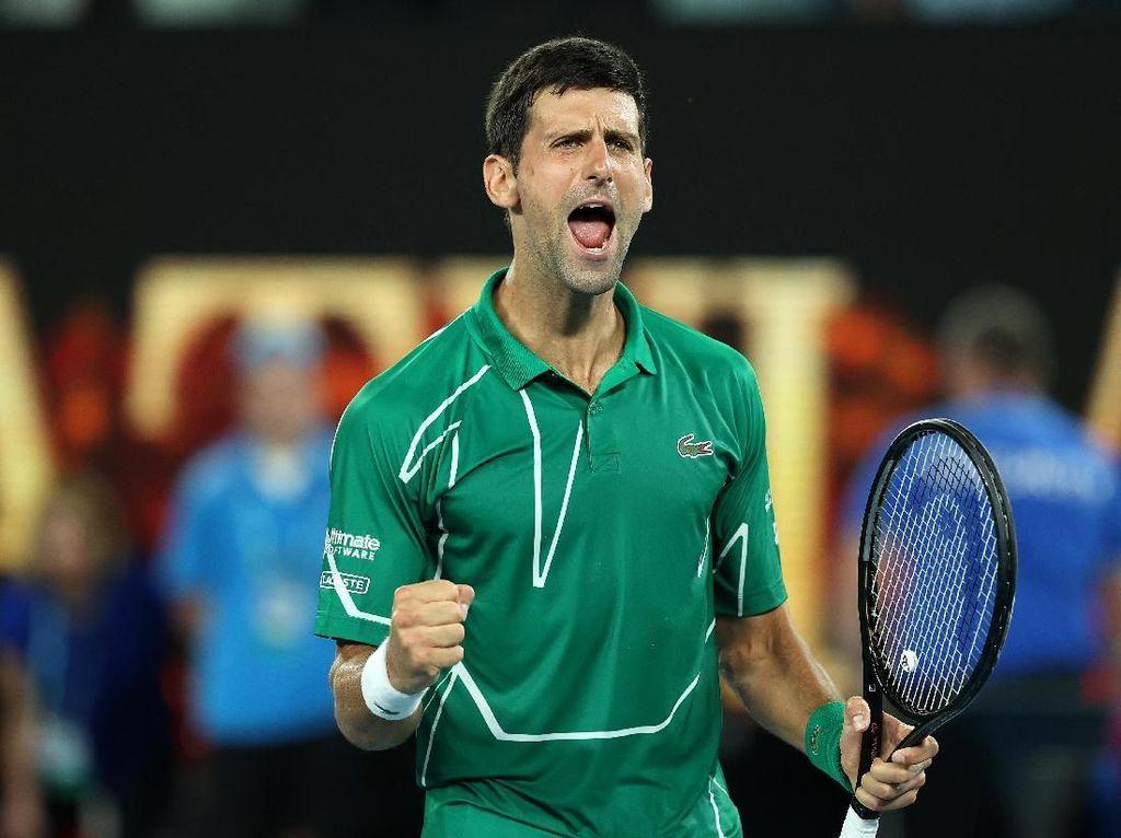 Atasi Federer Straight Set, Djokovic ke Final Australia Terbuka