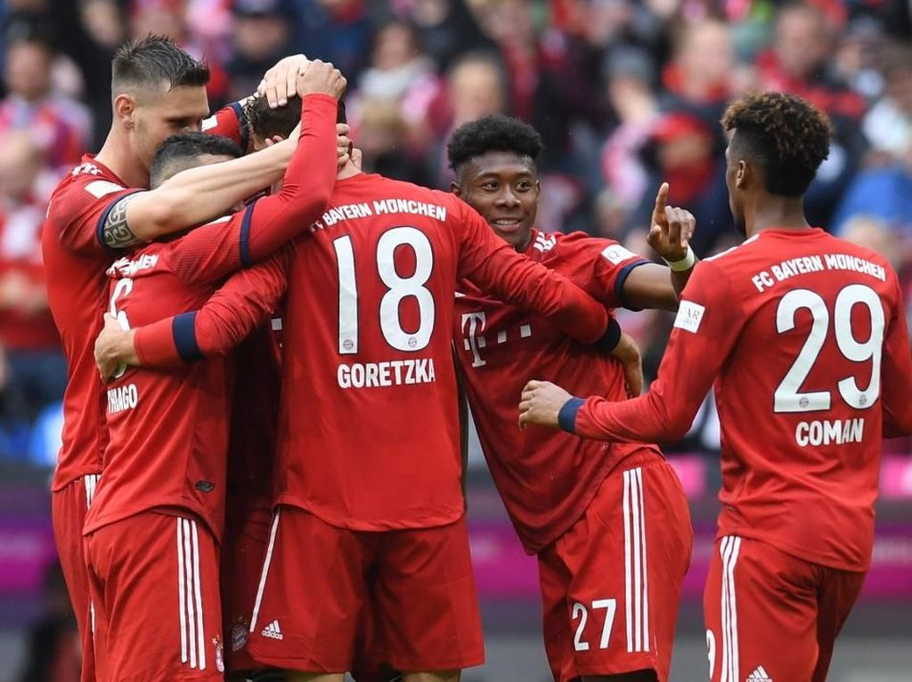 Link Live Streaming Bayern Vs Leipzig