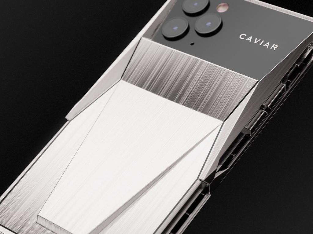 Wujud Cyberphone, iPhone 11 Pro yang Dikawinkan dengan Cybertruck