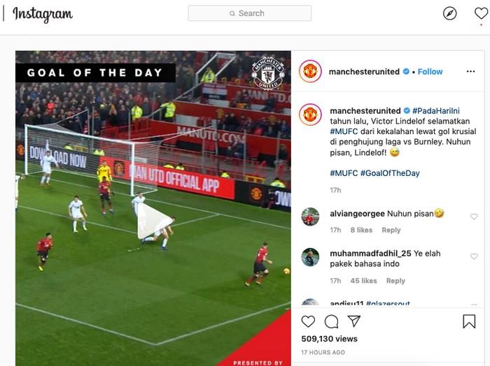 Instagram Manchester United
