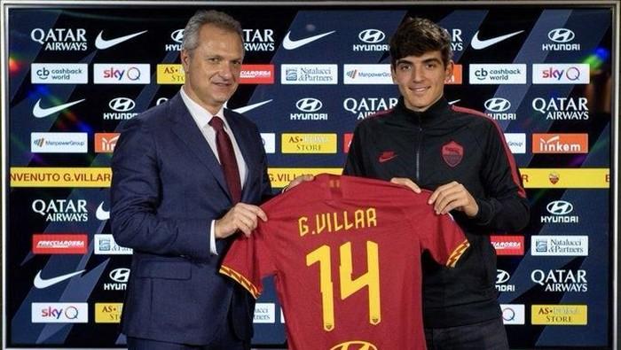 Gonzalo Villar menjadi rekrutan anyar AS Roma