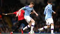 MU Menang, tapi City yang Lolos ke Final Piala Liga Inggris