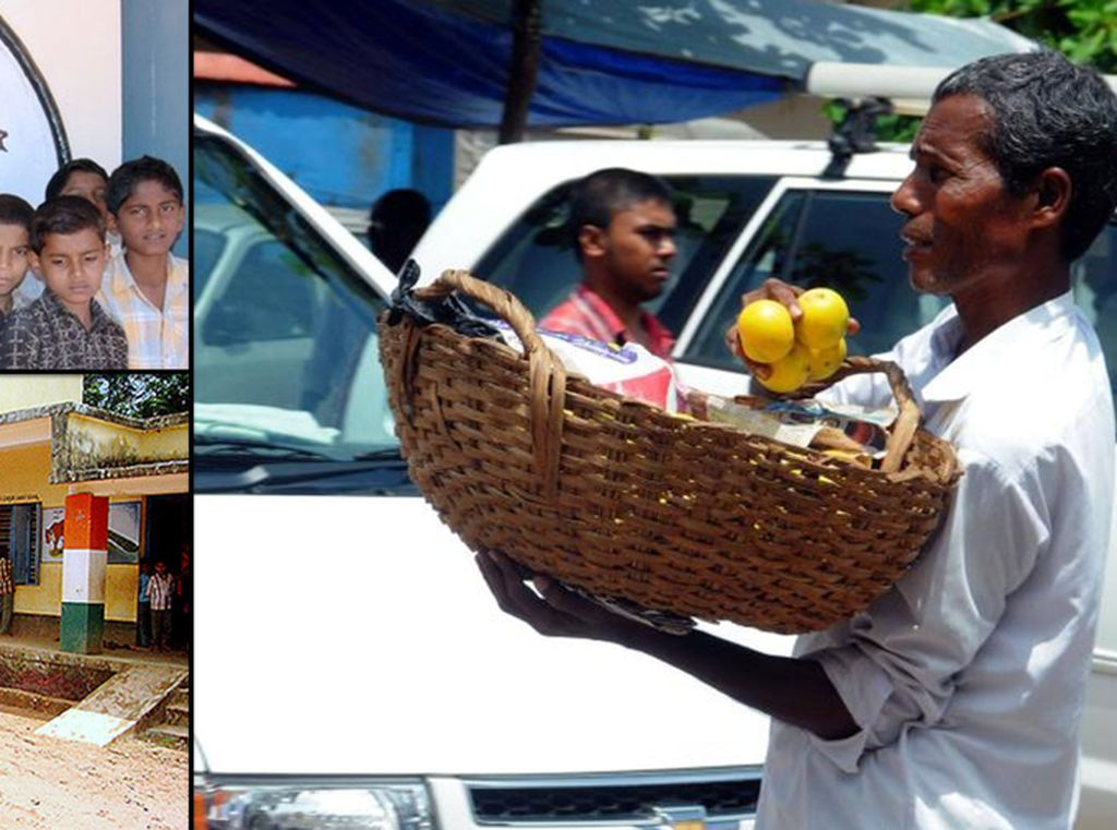 Mulia! Penjual Jeruk Keliling Ini Bangun Sekolah untuk Anak-anak Kurang Mampu