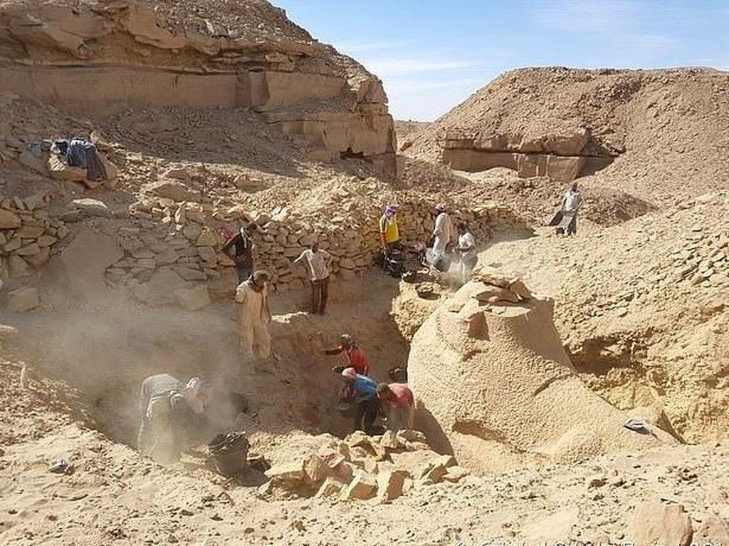 Foto: Sphinx Berkepala Domba Berusia 3 Ribu Tahun