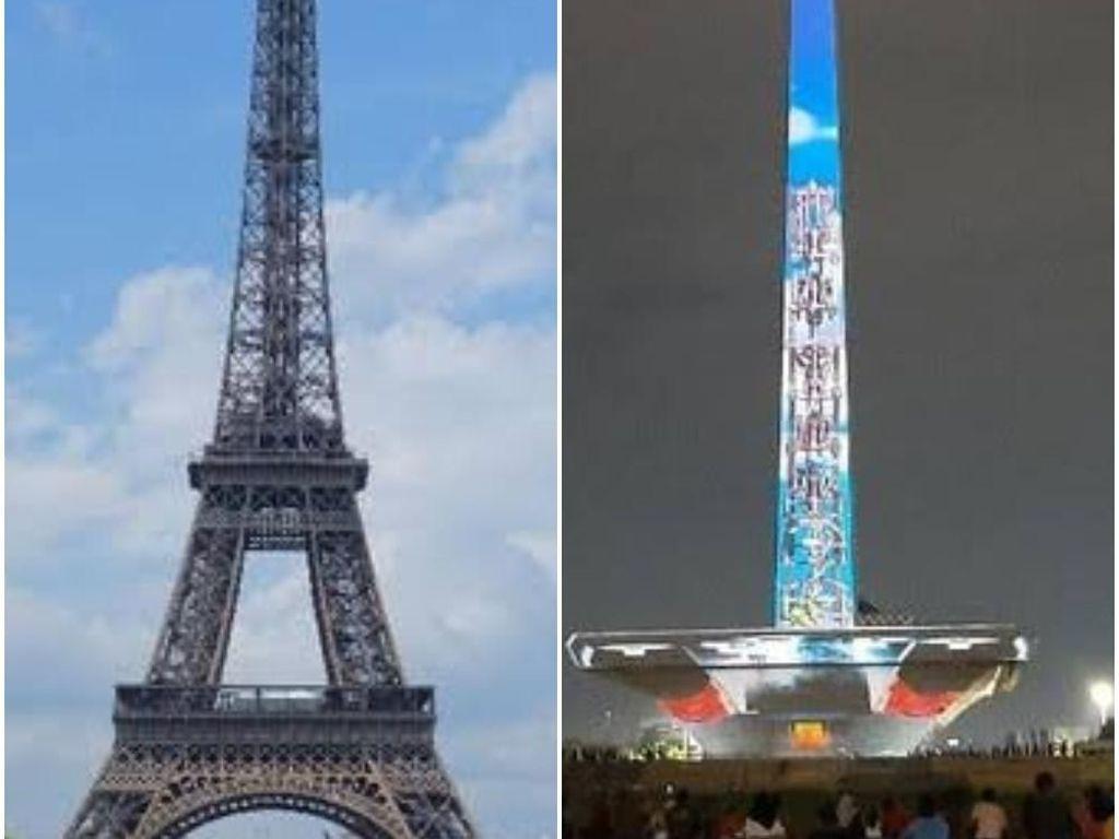 Narasi Seperti Eiffel di Balik Revitalisasi Monas