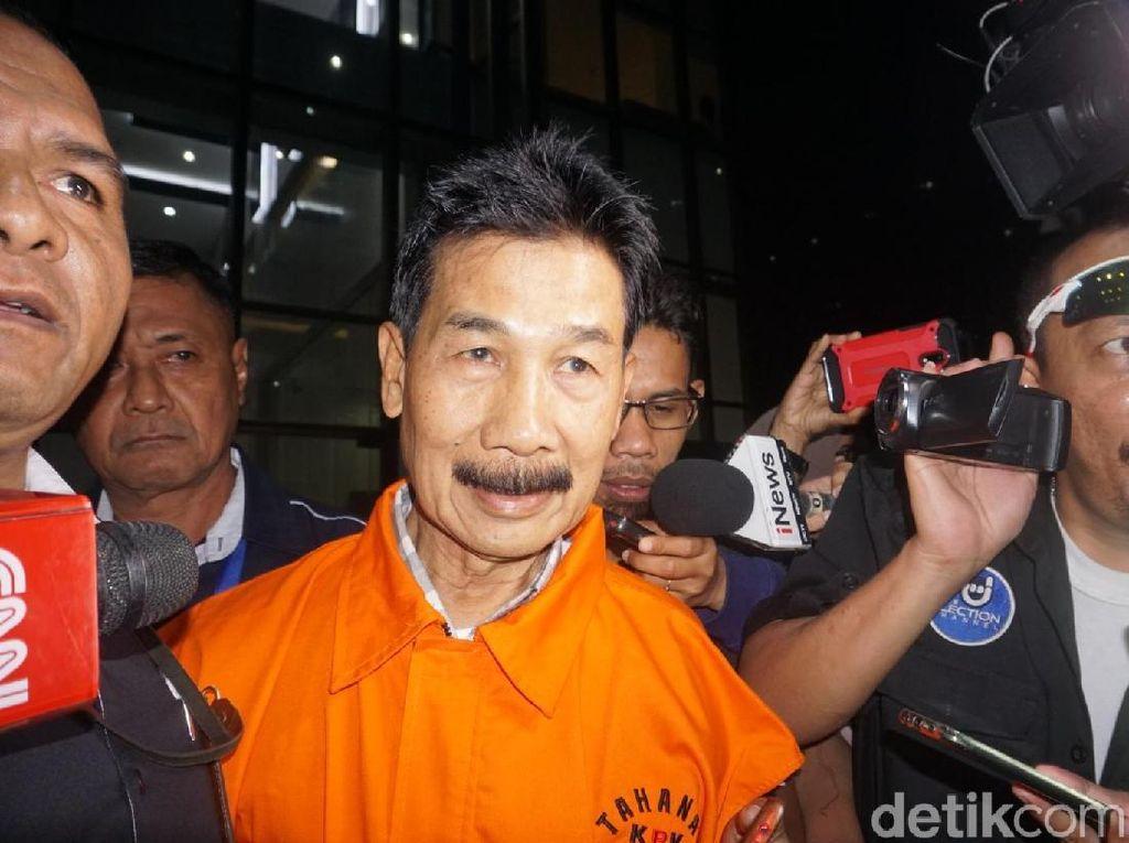 KPK Eksekusi Mantan Bupati Solok Selatan ke Lapas Sukamiskin