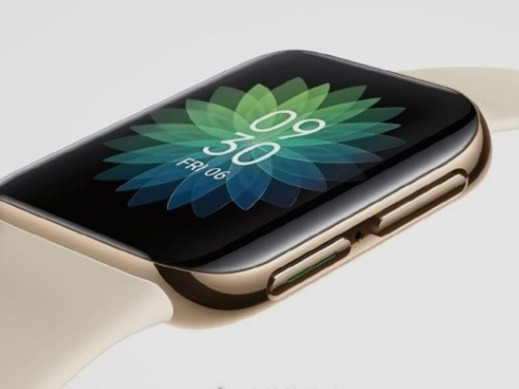 Smartwatch Oppo Bakal Mirip Apple Watch