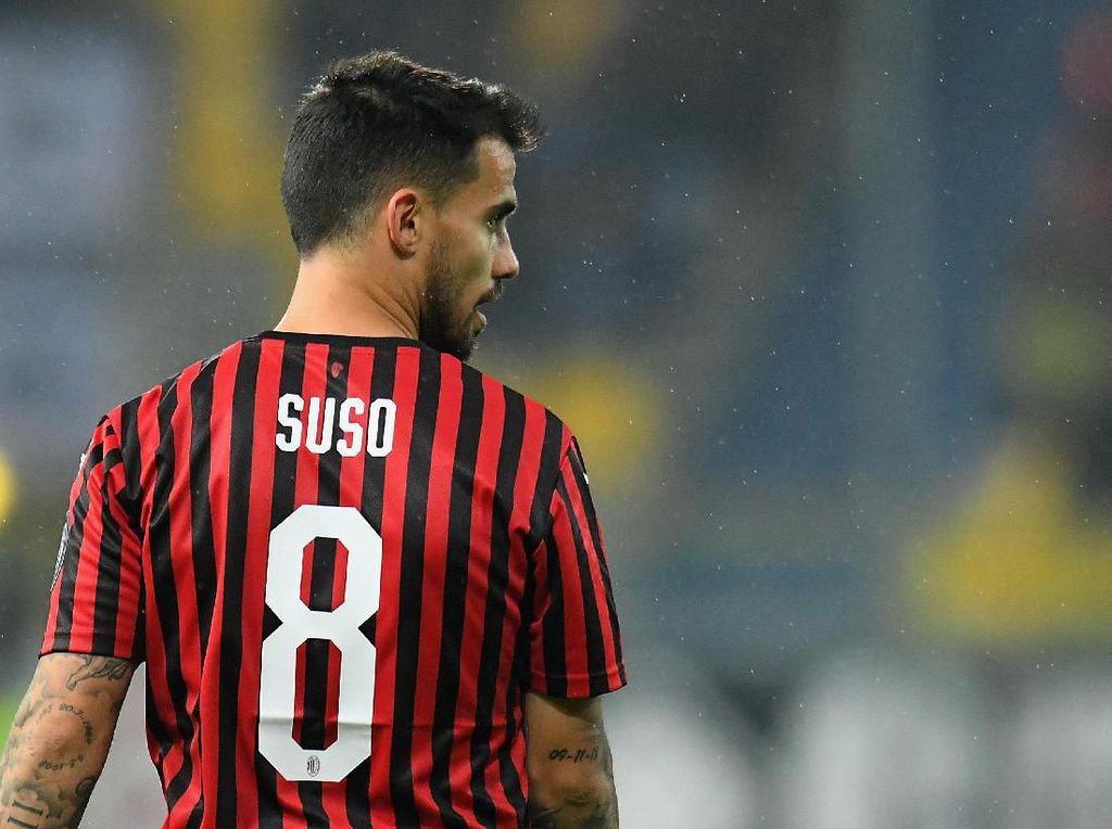 Pesan Cinta Suso untuk AC Milan