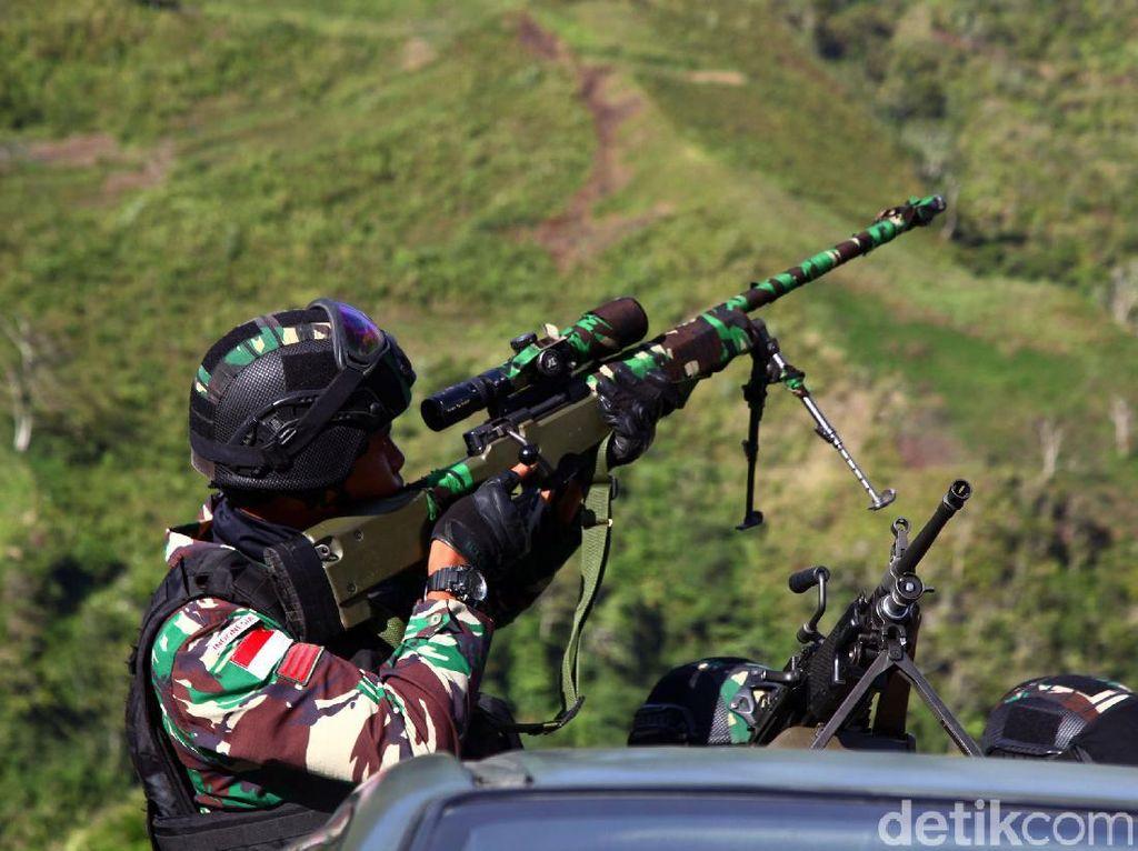 Melihat Pengamanan TNI-Polri di Papua