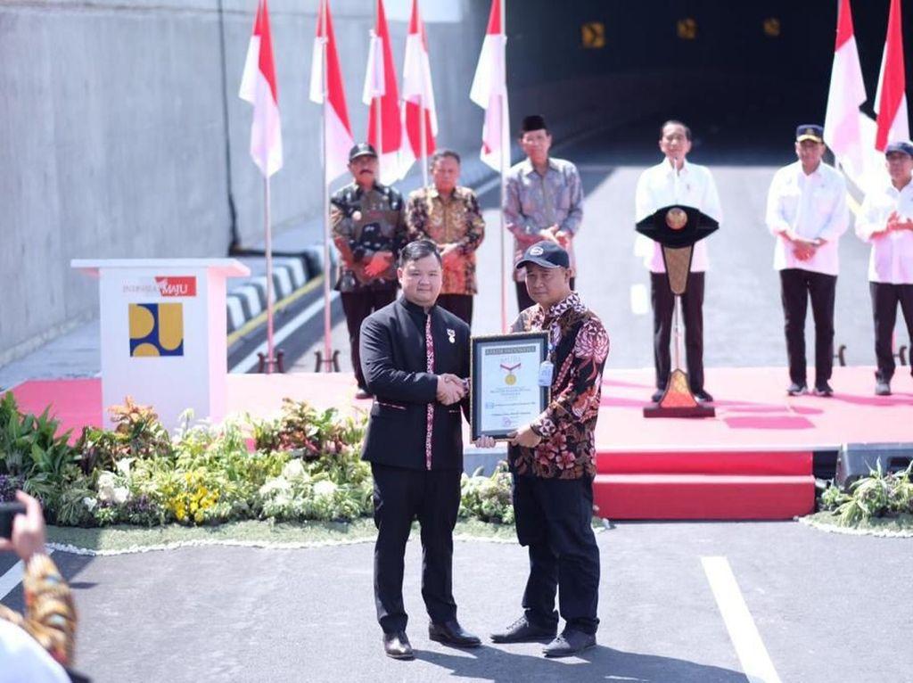 Underpass Terpanjang RI di Kulon Progo Raih Rekor MURI