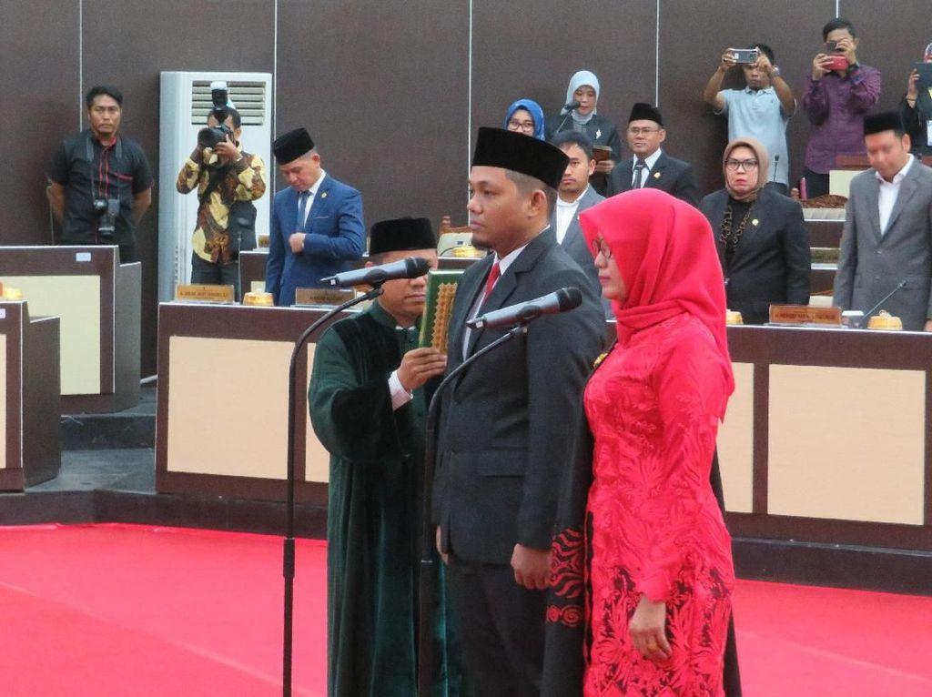 2 Anggota dari PDIP-Gerindra Dilantik, Komposisi DPRD Sulsel Kini Lengkap