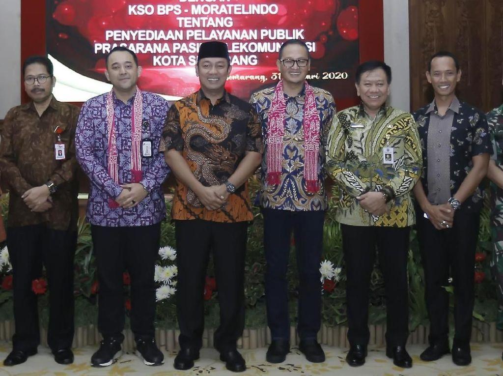 Pemkot Semarang Kucurkan Rp 617 Miliar Bangun Jaringan Fiber Optik