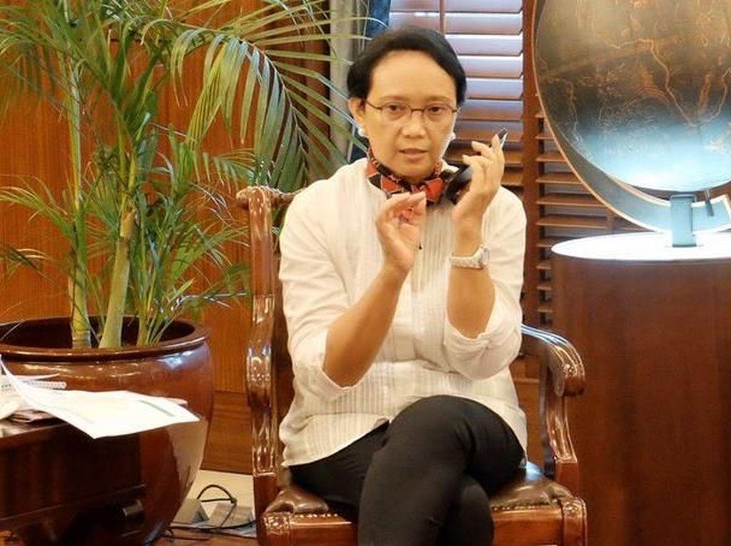 Kawal Evakuasi WNI dari Wuhan, Menlu Retno Tak Tidur 2 Hari