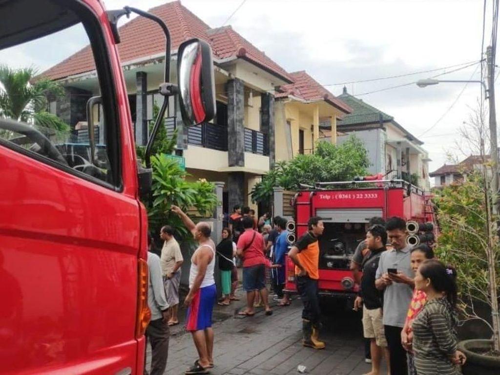 Rumah WNA di Bali Terbakar, 1 Orang Tewas