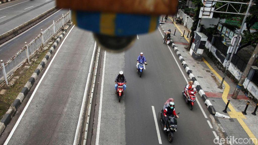 Siap-siap! E-Tilang Sepeda Motor di Sudirman-Thamrin Berlaku Besok