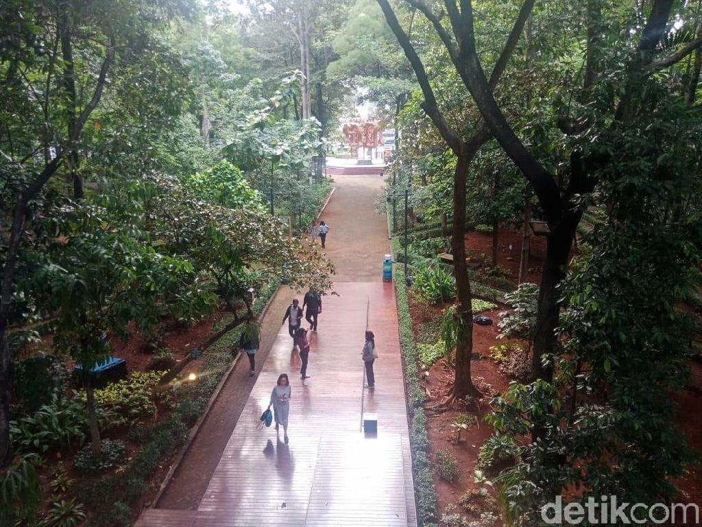 Kata Traveler tentang Hutan Kota KLHK di Jakarta