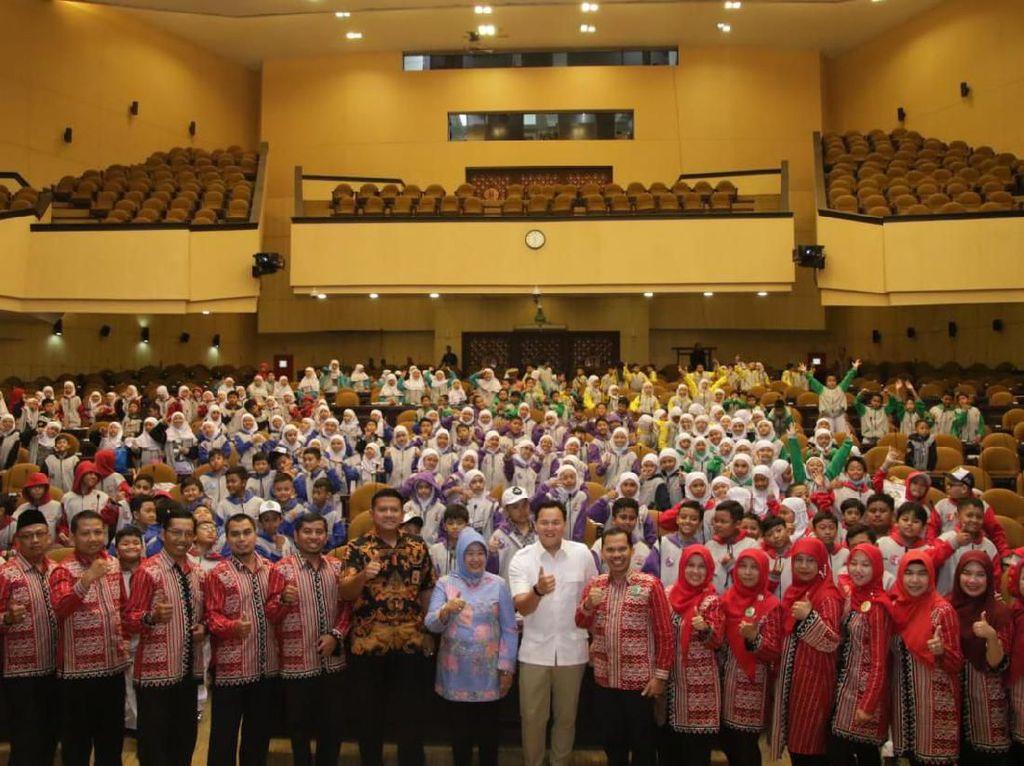 Ratusan Siswa MIN Malang Kunjungi Gedung MPR Pelajari Fungsi Parlemen
