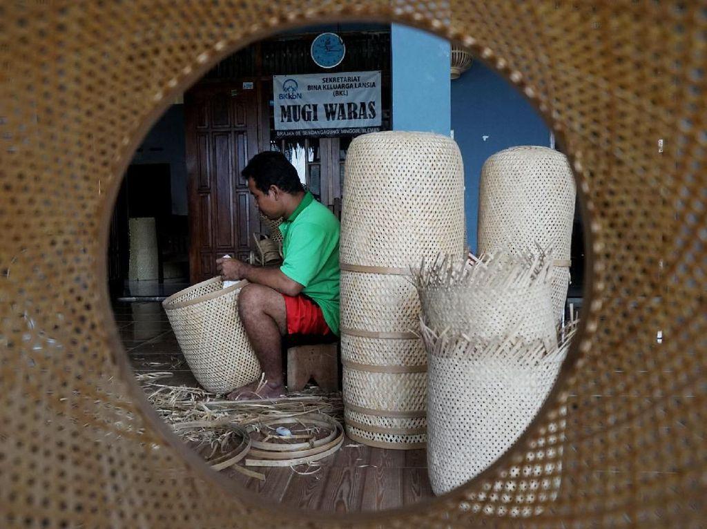 Kerajinan Bambu Yogyakarta Tembus Pasar Ekspor