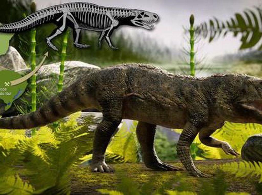 Fosil Buaya Monster Ditemukan, Wujudnya Mengerikan