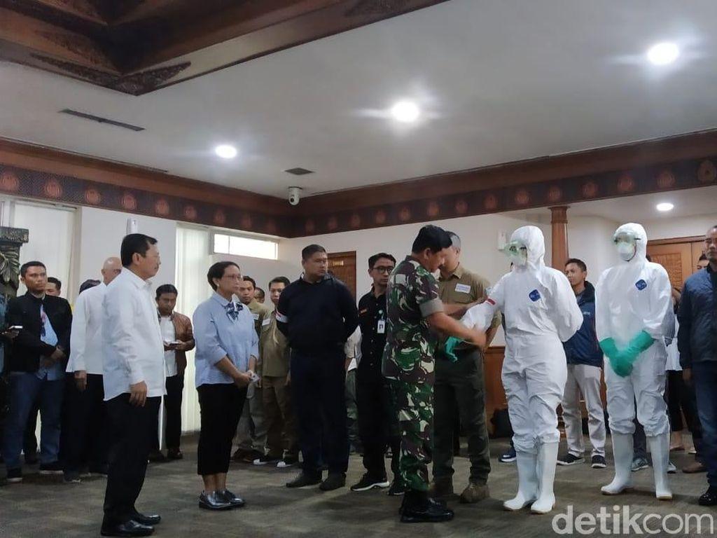 Panglima TNI Pastikan Natuna Jadi Tempat Observasi WNI dari China