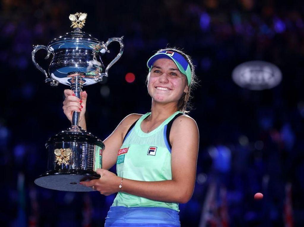 Sofia Kenin, Si Anak Sopir Taksi itu Juara Australia Terbuka