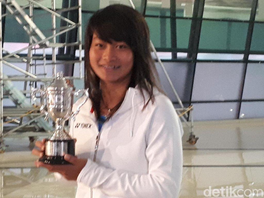 Juara Australia Terbuka Priska Madelyn Nugroho Tiba di Tanah Air