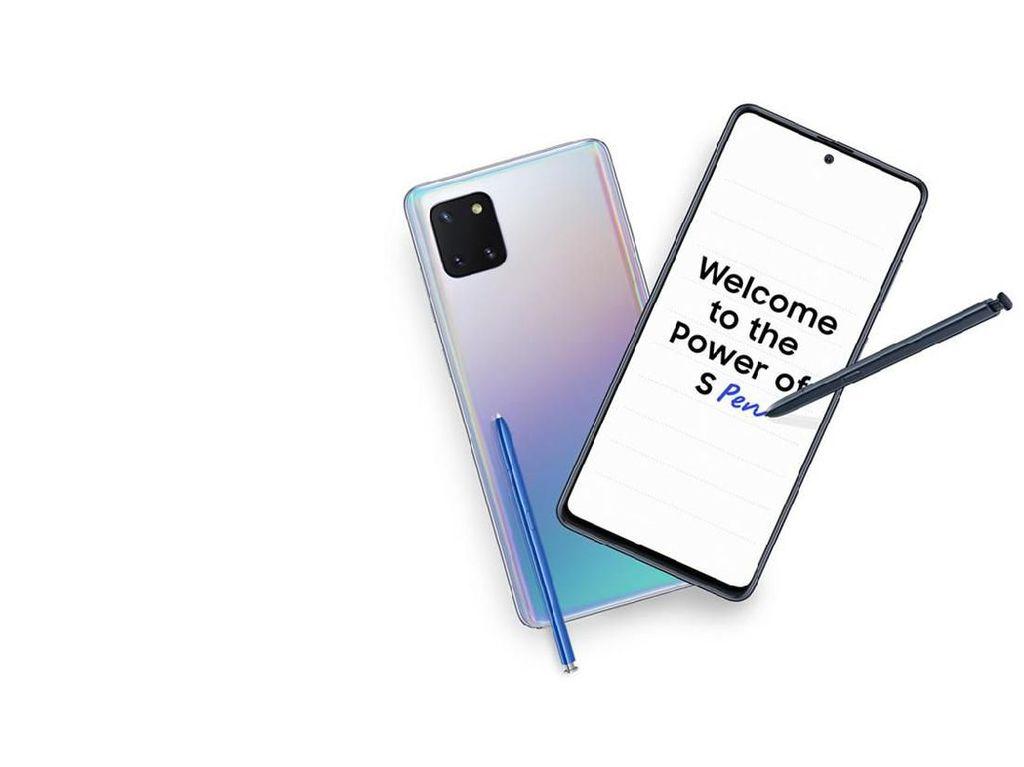 Ini Harga Galaxy Note 10 Lite di Indonesia