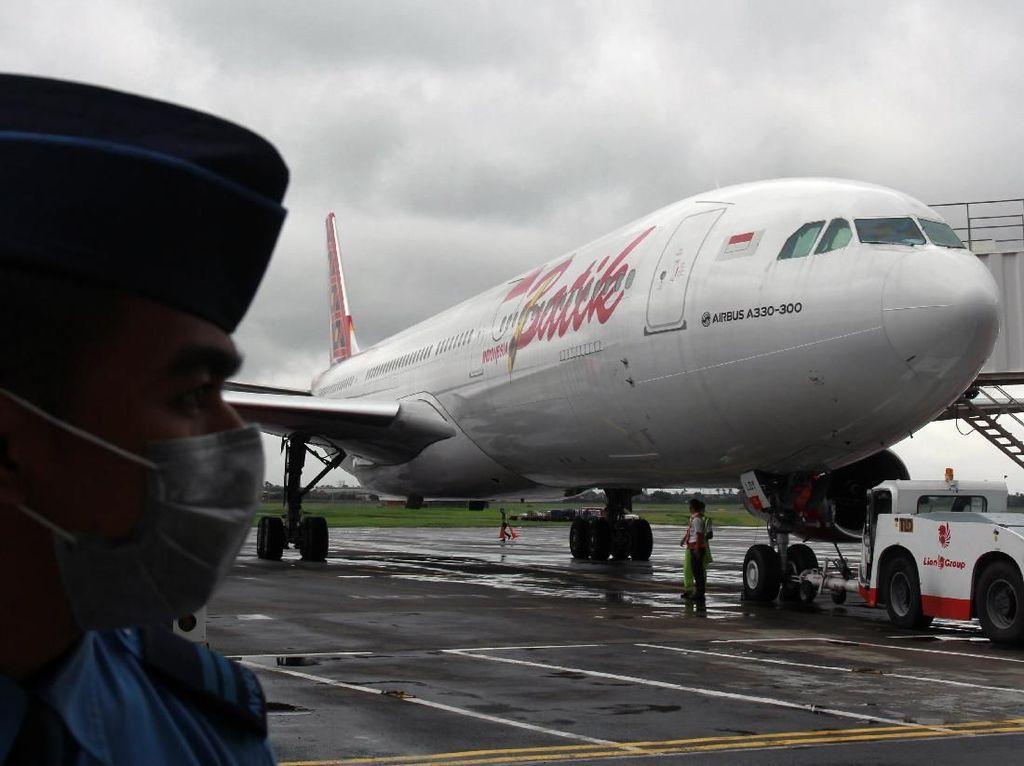Spesifikasi Pesawat Batik Air Pengangkut WNI dari China