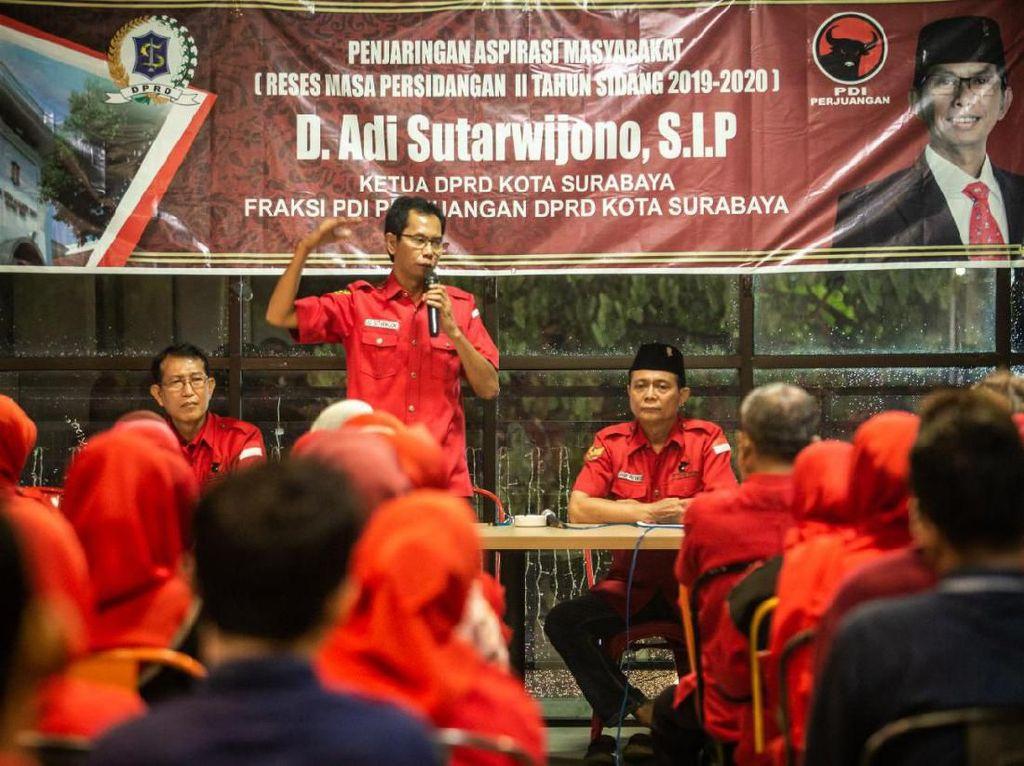 Sosialisasi Saat Reses, Ketua DPRD Surabaya: Jangan Ada Warga Tak Bisa Makan