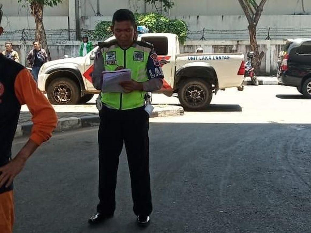 Pelaku Tabrak Lari yang Tewaskan Penjual Koran Menyerahkan Diri