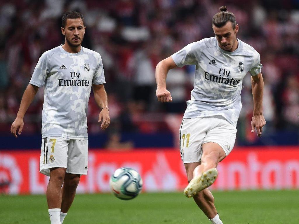 Real Madrid Tanpa Hazard dan Bale Saat Bersua Atletico