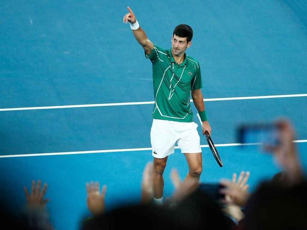 Novak Djokovic Juara Australia Terbuka 2020