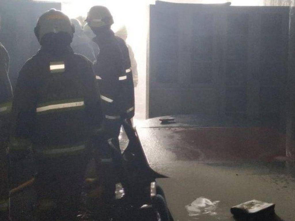 Satu Ruko di Metland Cakung Terbakar