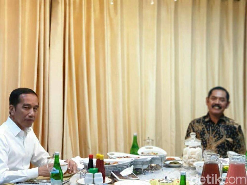 Jokowi dan FX Rudy Ketemuan, Relawan Harap Jalan Gibran Makin Terbuka